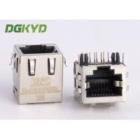 Quality Shielded pcb mount female rj45 keystone Jack 10p8c connector , side entry for sale