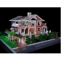 cheap 3d miniature architectural model maker villa building model
