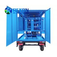 Quality Mobile Trailer and Weather-proof Type Transformer Oil Filter Unit 12000 Liters/Hour for sale