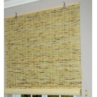 Quality Eco Friendly Bamboo Roller Blinds , Bamboo Roman Shades Customized Design for sale