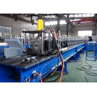 Quality Non - Stop Cutting Pallet Rack Roll Forming Machine 1.5 - 2.5mm Thickness Material Usage for sale