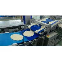 Quality Industrial Frozen Pizza Manufacturing Equipment Minimum Dough Thickness 2.5 Mm For Frozen Pizza Base for sale