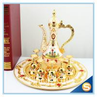 Best Shinny Gifts New Home Ornament Gift Set Handmade Enamel Metal Craft Decorations Russian Castle Style TXX wholesale