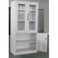 China Professional Office Metal Storage Cabinets Steel Cupboard Design,H900XW900XD400mm on sale