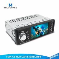 Quality 4.1 Inch 1 Din Car Stereo TFT LCD Car MP5 Player With Bluetooth OEM  Service for sale