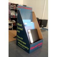 China Books cardboard counter display pop storage display box for notebooks on sale