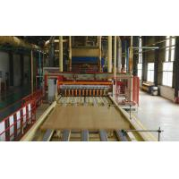 Quality Rice Straw Particle Board Production Line Raw Material Pine / Poplar for sale