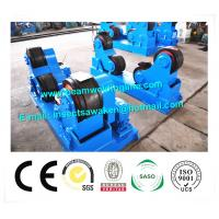 Quality Self Aligning Rotator / Pipe Weld Rotator With PU Roller For Boiler Industry for sale