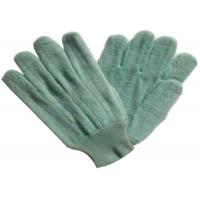 Quality Dark Color Heat Resistant Gloves Customized Logo Printed For Glass Industry for sale