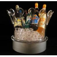 Best 2014 high quality Imperial crown plastic led ice bucket wholesale