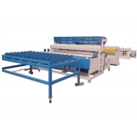 Quality 3-6mm steel wire mesh panel welding Machines for making gabion baskets for sale