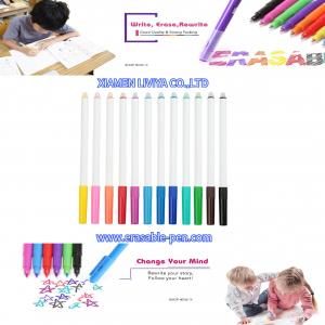 China Bright Colors Pen Cap Solid Color Frixion Marker Pen on sale