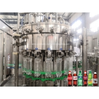 Quality Rotary Carbonated  SUS304 Soda Bottle Filling Machine Low Noise for sale