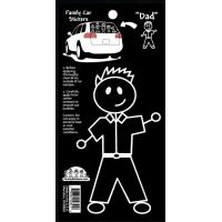 Best Family Car Stickers -- Dad wholesale
