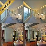 Quality Privacy PDLC smart film, smart privacy film, switchable pdlc film, smart glass, EB GLASS for sale