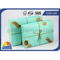 Best Custom Logo Printed Paper Boxes with Lids , Rectangle Hard Cover Decorative Box for Wedding Gift wholesale
