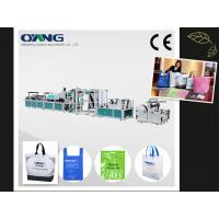 China popular and latest non woven bag making machine hot sale on sale