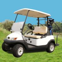 Quality Excar 48V Electric Golf Car Pearlized Trojan Battery Aluminum Chassis for sale