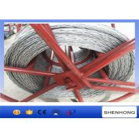 Quality High Strength Anti Twist Wire Rope 20 mm for Transmission Line Stringing for sale