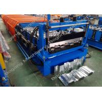 Quality Composite Metal Floor Deck Roll Forming Machine For Custom Galvanized Coil for sale