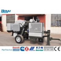 China Hydraulic Tensioner 2x45kN Overhead Line Stringing Equipment for Twin Bundled Conductors Cummins Engine for sale