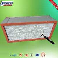 China Air Conditioning System Hepa Filter Air Purifier With Aluminum Frame on sale