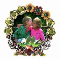 China Round -Shaped Glass Picture Frame on sale