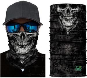 Quality multi choice women head scarf printed colorful face mask custom logo/size bandana,Sport Magic Seamless Custom Gaiter Whi for sale