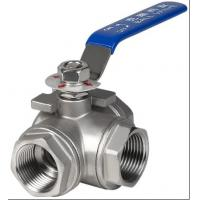 China 3 port ball valve on sale