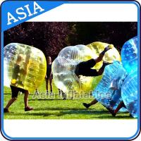 China Custom Bubble Soccer Ball / Soccer Bubble Ball With High Qualtiy 1.0mm Tpu on sale