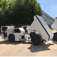 Quality 6 Ton Underground Mining Dump Truck 4 - Wheel Rigid Axles With Fully Enclosed for sale
