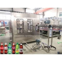 Quality 6000BPH 1000ML Automatic  Sparkling Soda Carbonated Drink Filling Machine for sale