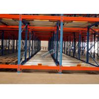 China Freezers Pallet Flow Racking Maintenance Free , Material Handling Racks FIFO Operated on sale