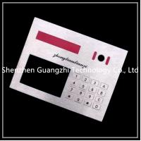 China Precision Machining Metal Numeric Keypad 304 Stainless Steel Material on sale