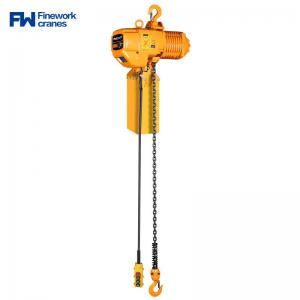 Quality 3 Ton 5 Ton Stainless Steel Chain Hoist With Mobile Trolley for sale