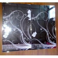 Decorative mirror screen printing mirror glass mirror silkprint mirror