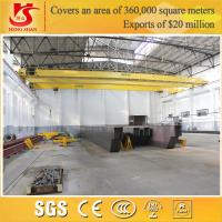 Quality Double girder steel factory used overhead radio control crane for sale