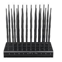 Quality EST-502F20 Cell Phone Signal Jammer 20 Bands WIFI GPS VHF UHF 315 433 868 Jammer for sale