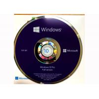 Buy cheap CD DVD Simple Package Windows 10 Professionnel Version Complete 100% Useful from wholesalers