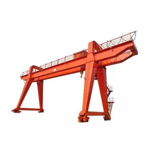 Quality MG Double Girder Gantry Crane With Electric Wire Rope Hoist for sale