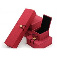 Buy Luxury Necklace Paper Jewelry Box Offset Printing Durable For Presentation Gift at wholesale prices