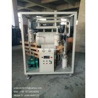 China ZY single stage vacuum insulating oil purifier | transformer oil filter plant | insulation oil filter on sale