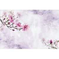 Quality Peach Blossom Bamboo Fiber Fiber Wall Panels Modern Style 300cm X 200cm for sale