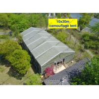 Quality Camouflage Cover Instant Installation and Movable Clear Span Tents with Glass Door for Outdoor Event in Scenic Area for sale