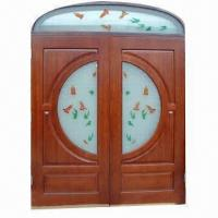 Quality Prehung Solid Wood Door (38#A) for sale