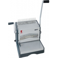 Quality Heavy Duty Manual 500 Sheets A4 Plastic Comb Strip Punch Binding Machine for sale