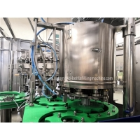 Quality SUS304 Carbonated Glass Bottle Filling Line With Touch Screen for sale