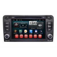 Quality AUDI A3 GPS Navigation System Android DVD Player Dual Core A9 Chipset RDS BT for sale