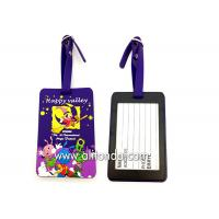 Buy cheap Soft PVC rubber luggage tag supply personalized luggage tag custom from wholesalers