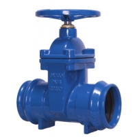 Quality PVC Socket Ends Non Rising Resilient Seated Gate Valve for sale